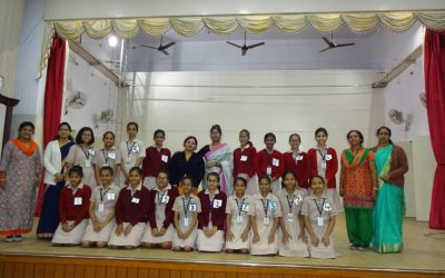 Elocution Competition on 19th January 2019